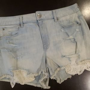 American Eagle high Rise Shortie Size 14